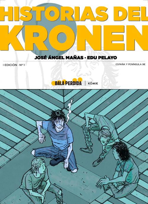 Portada «Historias del Kronen. El kómik»